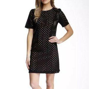 Trina Turk Marquise Circle Eyelet Dress Black 2